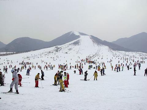 渔阳滑雪场旅游景点图片