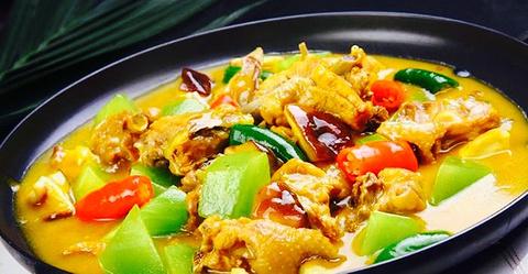 味之源酸辣粉黄焖鸡米饭