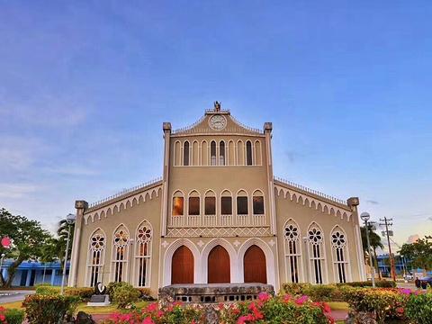 薰衣草教堂旅游景点图片