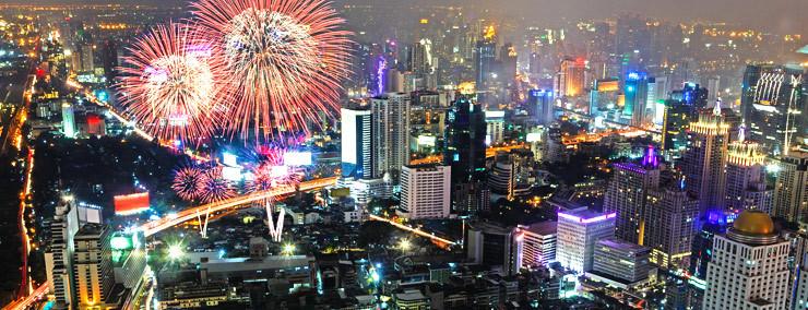曼谷新年倒数活动