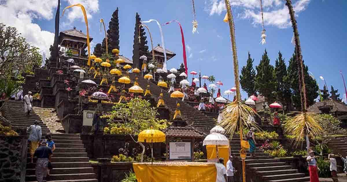 百沙基母庙周年庆典