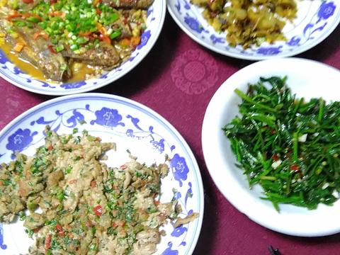 瑶里古镇农家饭旅游景点图片