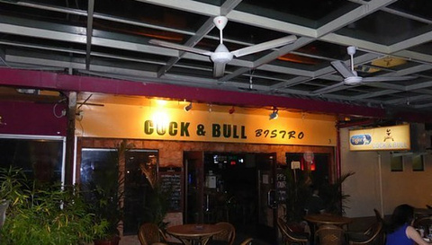 Cock and Bull Bistro waterfront