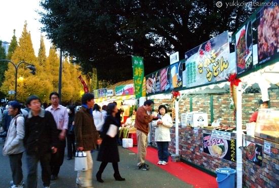 神宫外苑银杏节