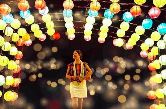 努沙杜瓦灯光节