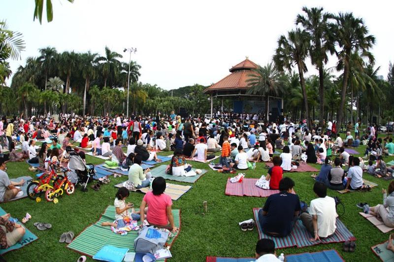 公园音乐会