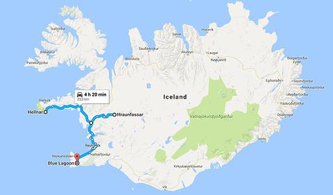 斯奈山半岛旅游景点攻略图
