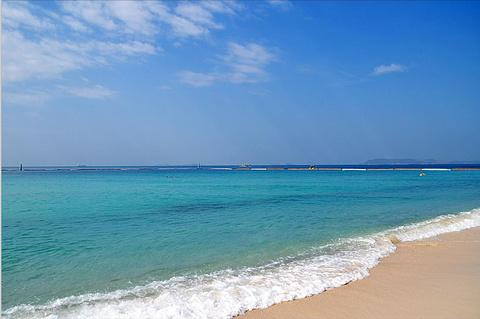金沙岛的图片