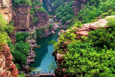 云台山风景名胜区的图片