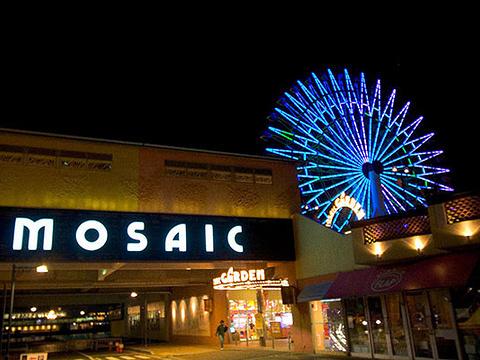 神户马赛克广场旅游景点图片