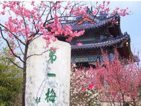 梅花山旅游景点图片
