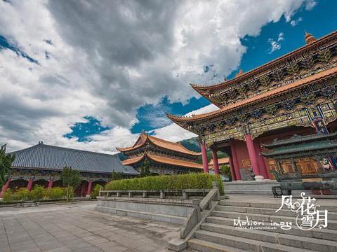 三塔寺旅游景点图片