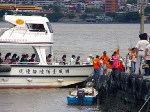 淡水渡船头旅游景点图片