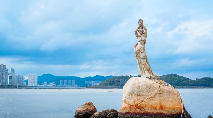 珠海渔女旅游图片