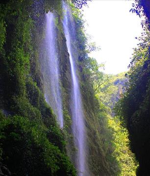 德天跨国瀑布景区旅游景点攻略图