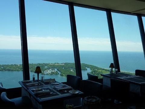 360°CN塔全景餐厅旅游景点图片