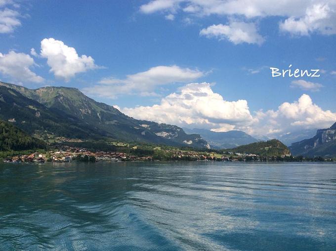 布里恩茨湖图片