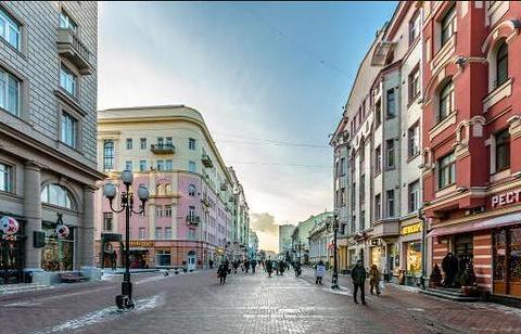 老阿尔巴特街的图片