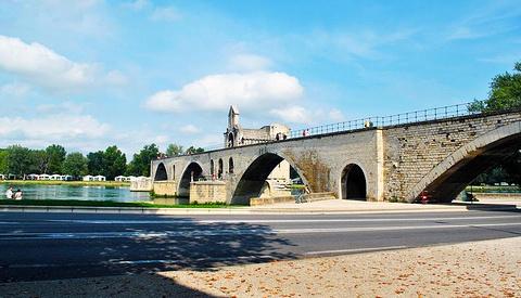 阿维尼翁断桥的图片