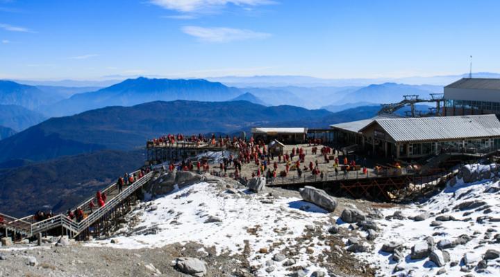 玉龙雪山旅游图片