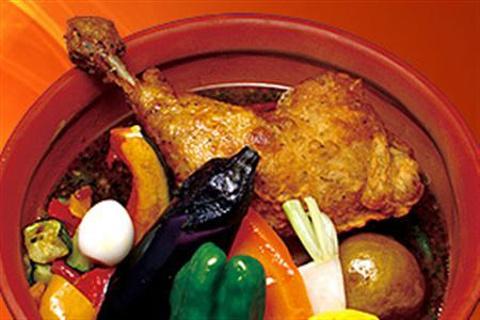 Picante汤咖喱的图片
