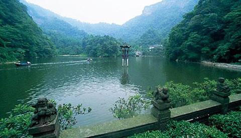 青城两河漂流