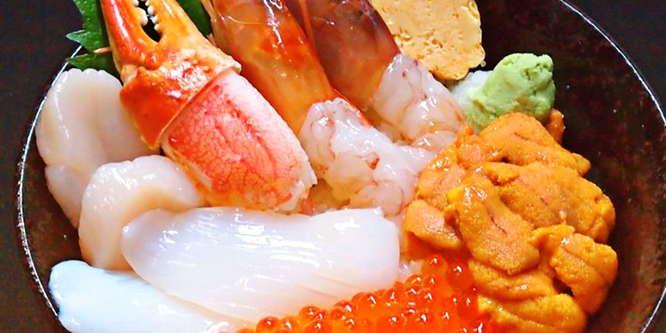 海鲜丼 大江户(筑地市场内店)