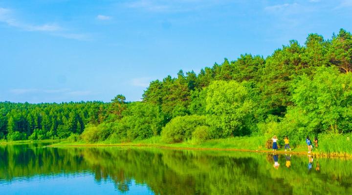 北国的园林旅游图片
