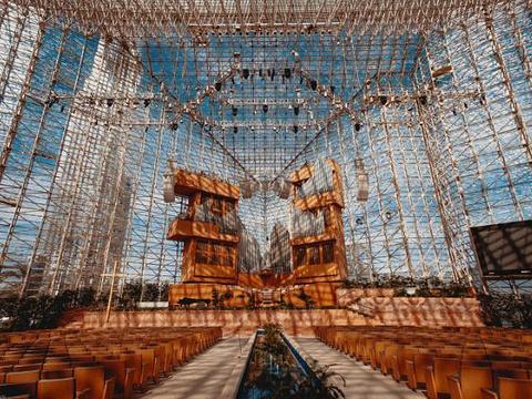 洛杉矶水晶大教堂旅游景点图片