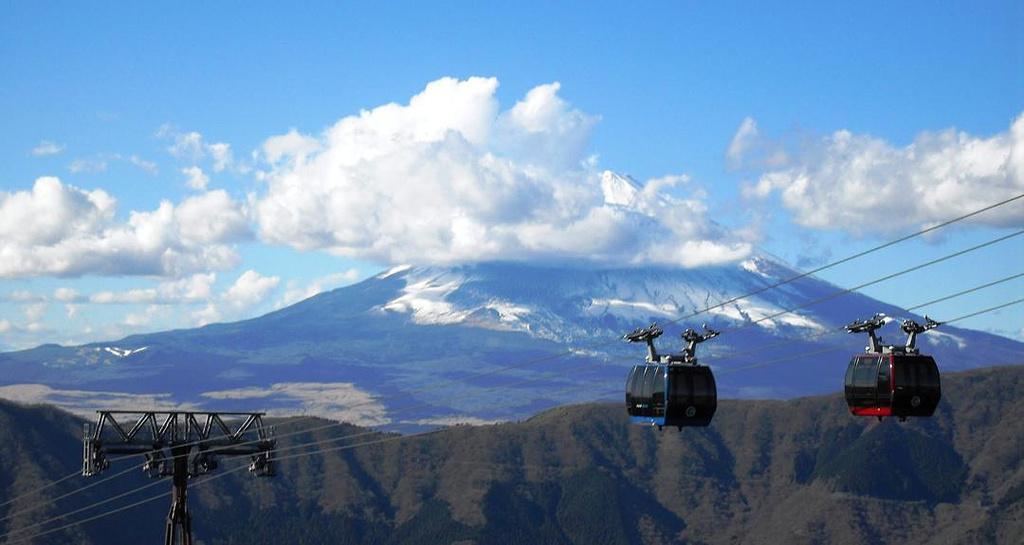 驹岳山缆车