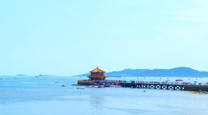 栈桥旅游图片