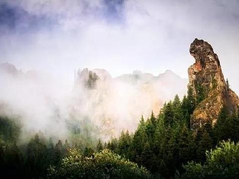 吐鲁沟国家森林公园旅游景点图片