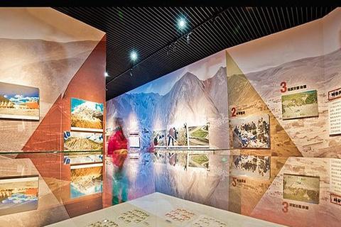 玉树灾后重建成果展览馆