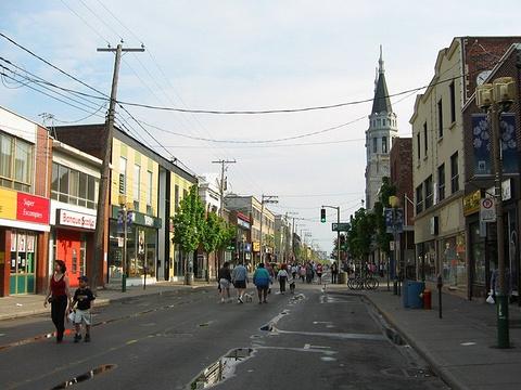 火花街市场旅游景点图片