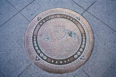 班夫国家公园旅游景点攻略图