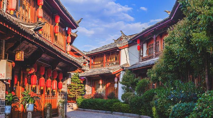 丽江古城旅游图片