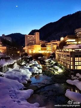 定山溪温泉旅游景点攻略图