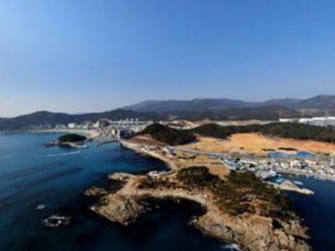 松亭海水浴场旅游景点图片