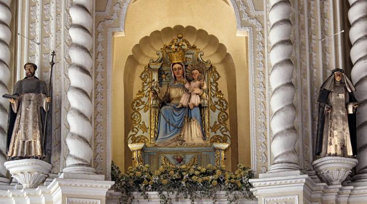 玫瑰圣母堂旅游图片