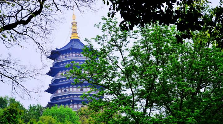 雷峰塔旅游图片