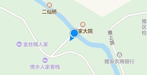 碧峰峡旅游景点攻略图