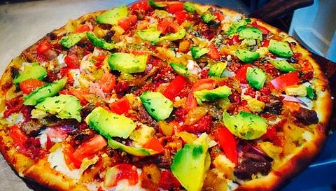 Pizzas Artesanales en Jamburger Jil