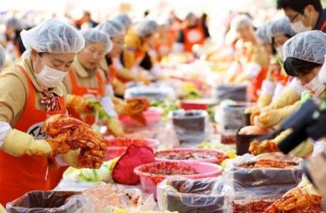 首尔越冬泡菜文化节
