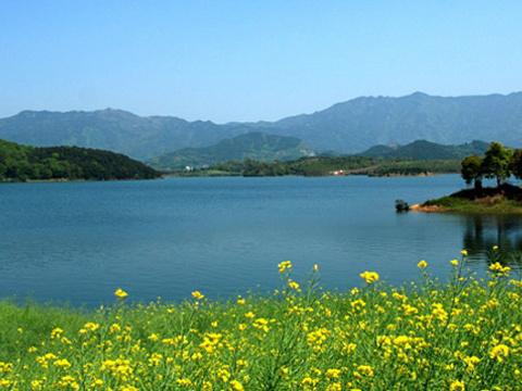 梅川水库旅游景点图片