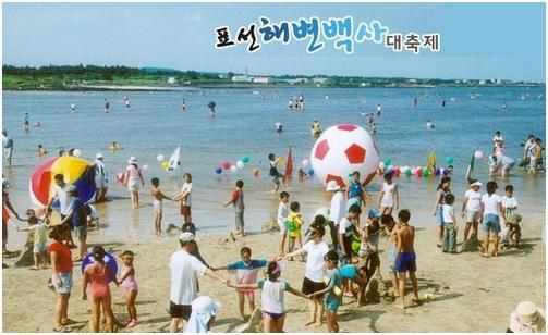 第23届表善海水浴场白沙庆典
