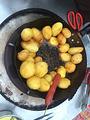 烤土豆豆腐干