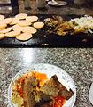 长白山火山石烤肉