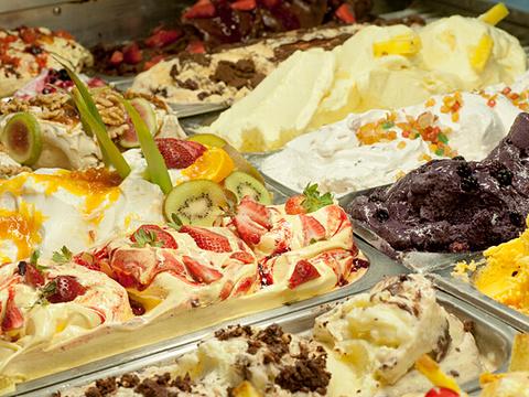 棕榈冰淇淋店旅游景点图片