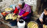 婆婆油煎酿物
