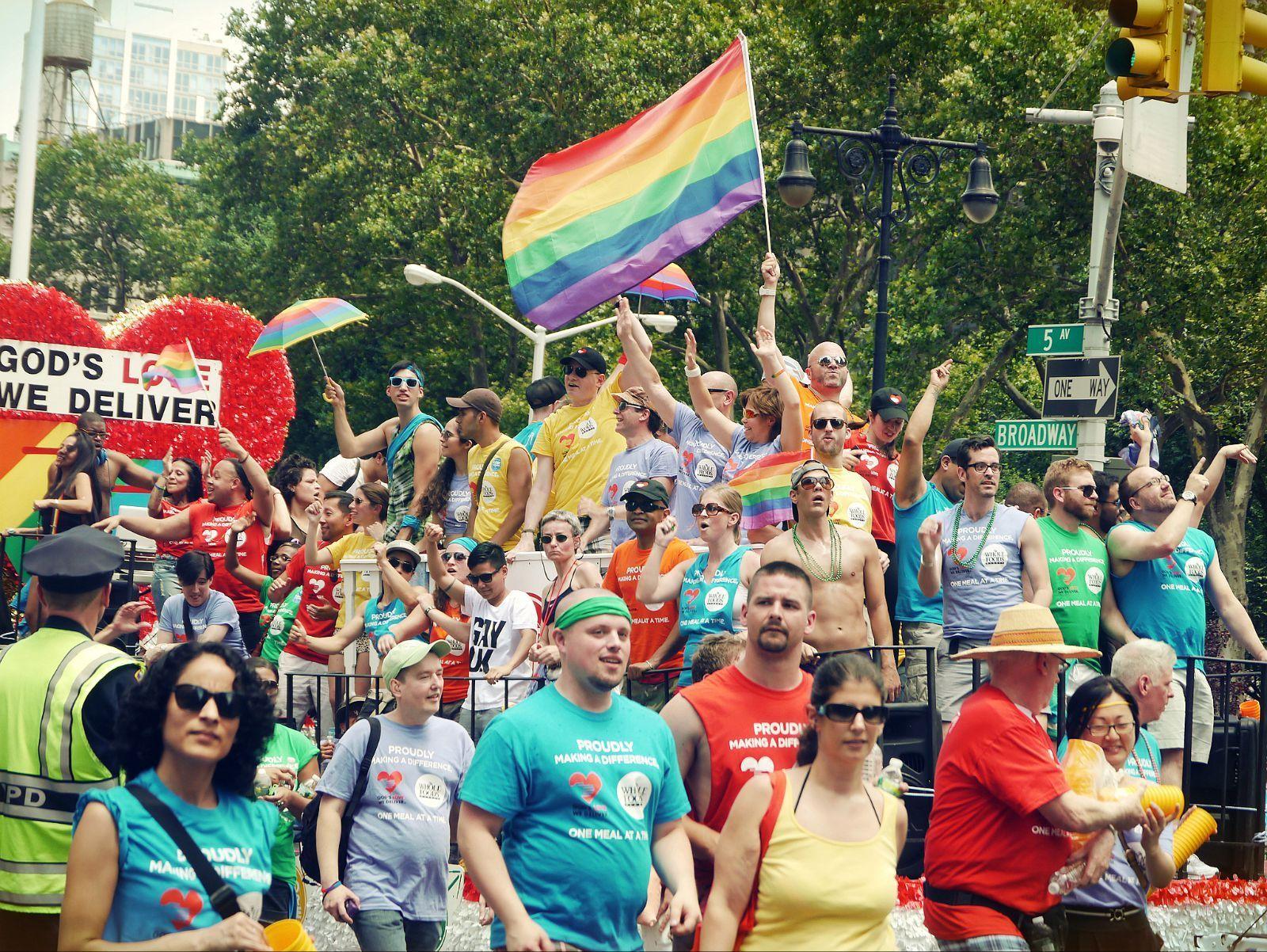 纽约同性恋大游行